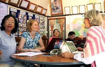 Arbejd med mikrofinans i Cambodja