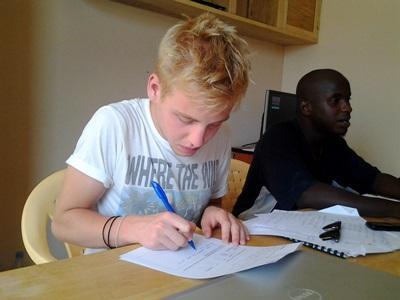 Frivillig på mikrofinans-projektet i Senegal