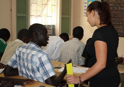 Frivillig rådgiver lokale i Senegal