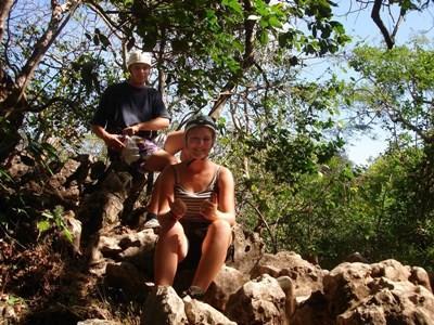 Frivillige på research i regnskoven