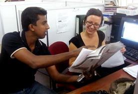 Frivilligt arbejde i Journalistik