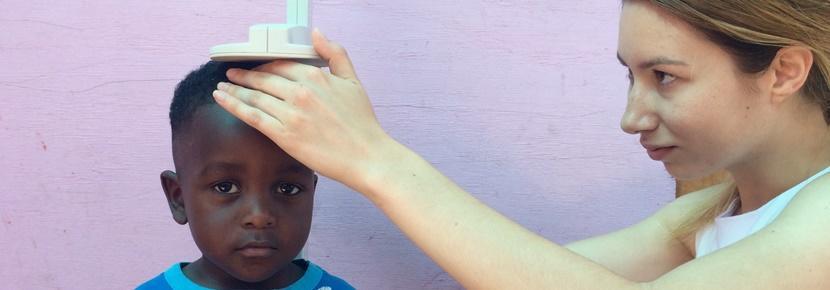 På ernæringsprojektet måler vi børns udvikling