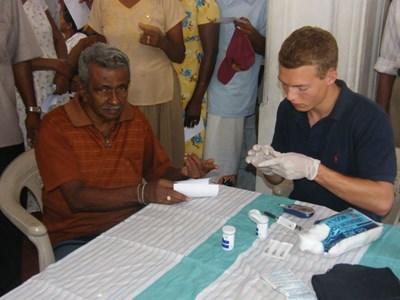 Frivillig på medicinsk projekt i Sri Lanka