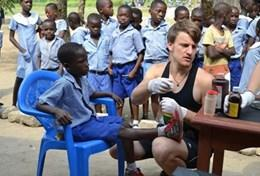Frivilligt arbejde i Ghana