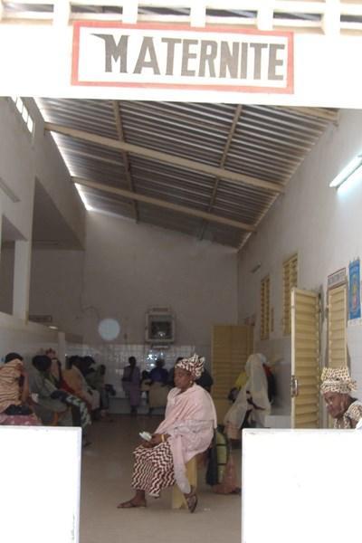 Arbejd med obstetrik i Senegal