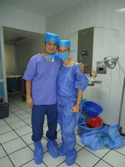 Frivillig på medicinsk projekt og lokal læge i Mexico