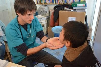 Frivillig på projekt inden for sygepleje i Mongoliet