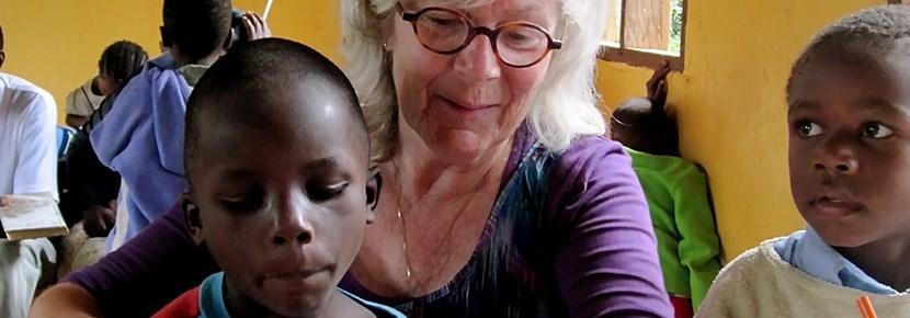 Frivillig på et humanitært projekt i Tanzania