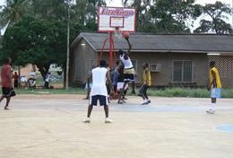 Frivilligt arbejde i Basketball
