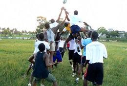 Frivilligt arbejde i Rugby