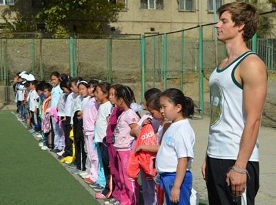 Frivillig på sportsprojekt i Mongoliet