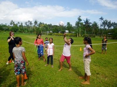 Skolesportsprojekt i Samoa