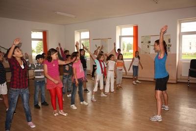 Frivillig på sportsprojekt i Rumænien