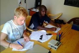 Frivilligt arbejde i Fransk
