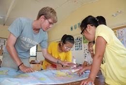 Frivilligt arbejde i Samoansk