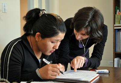Frivillig på et undervisningsprojekt i Bolivia