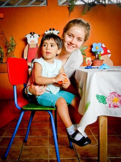 Frivillig på undervisningsprojekt i Costa Rica