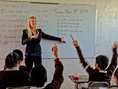 Frivillig på undervisningsprojekt i Mexico