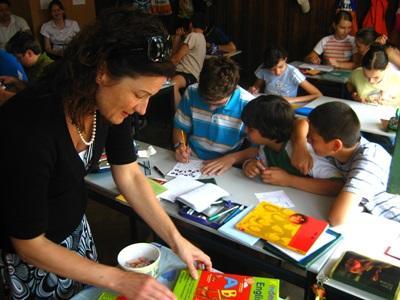 Frivillig på undervisningsprojekt i Rumænien