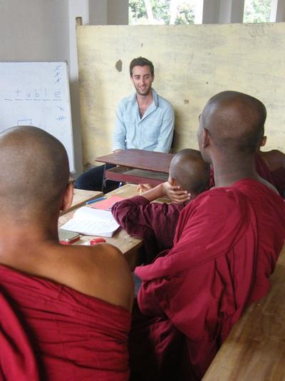 Frivillig på undervisningsprojekt i Sri Lanka