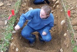 Frivilligt arbejde i Arkæologi