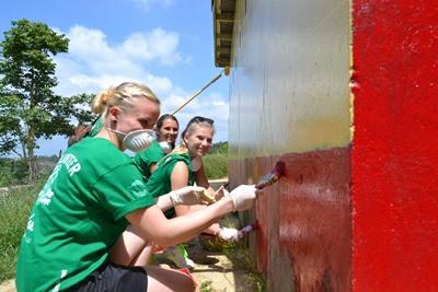Grupperejse med frivilligt arbejde i Jamaica