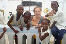 Frivilligt arbejde i Senegal