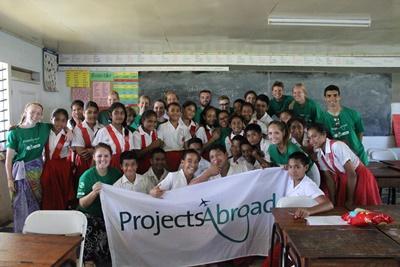 Grupperejse for unge til Samoa