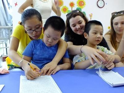 Ungdomsprojekt i Kina