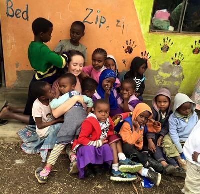 Friviligt arbejde i Tanzania