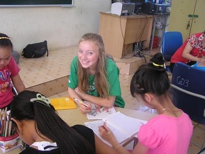 Frivilligt arbejde for unge