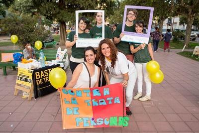 Snak med de lokale i Argentina