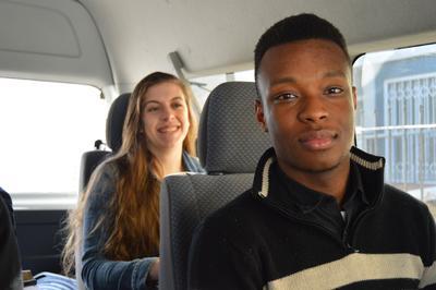 Ungdomsprojekt i Sydafrika med fokus på jura og menneskerettigheder.