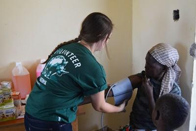 Medicinsk outreach i Kenya