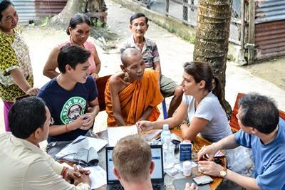 Grupperejse med folkesundhed i Cambodja