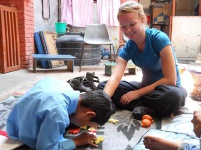 Frivillig på fysioterapi-projekt i Nepal