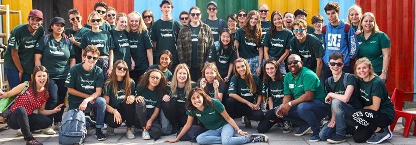 Frivilligt arbejde for unge i udlandet er projekter for 16-19-årige fra hele verden