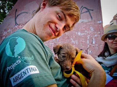 Ungdomsprojekt i Argentina med fokus på dyrepasning